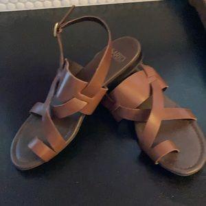 Franco Sarto, Flat Sandal, Flat , Size 9,